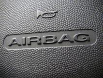 airbagtecken Arkivbilder