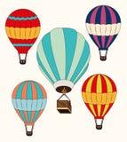 Airballoon design over white backgroundvector illustration Stock Photo