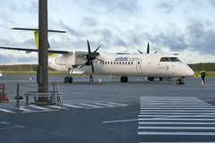 AirBaltic Bombardier Dash 8 Q400 NextGen Stock Photography