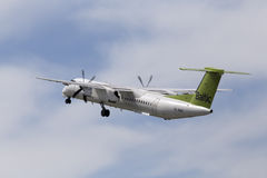 AirBaltic De Havilland Canada DHC-8-402Q Dash 8 aircraft Stock Image