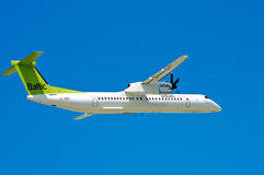 AirBaltic de Havilland DHC-8 Immagini Stock Libere da Diritti