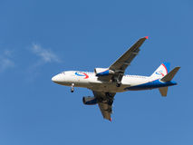 Airbas A319 Ural Airlines Stock Image