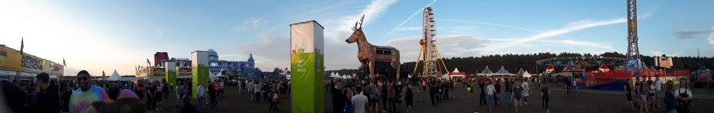 Airbeat ein Festival Stockfotografie
