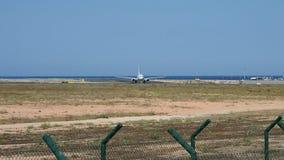 Airberlin航空器在阿利坎特机场 影视素材