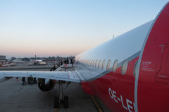 Airberlin Airbus A320 Stock Photography
