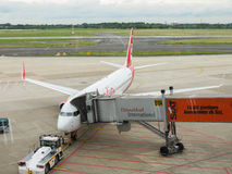 Airberlin aircraft Stock Photography