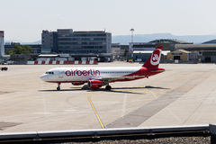 Airberlin Airways HD-IOZ Royalty Free Stock Photos