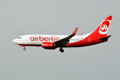 Airberlin Boeing 737 Stock Photo