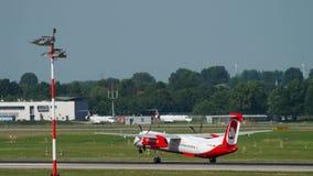 Airberlin Bombardier Dash 400 departure stock video footage
