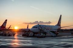 AirBerlin flygplan Royaltyfri Fotografi