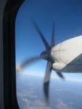Airblade de um avião Fotografia de Stock
