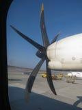 Airblade de um avião Fotos de Stock Royalty Free