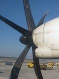 Airblade de um avião Fotos de Stock