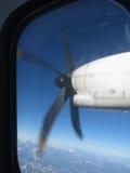 Airblade de um avião Foto de Stock
