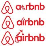 Airbnb商标标志 图库摄影