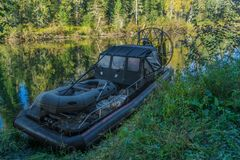Airboat Stockbilder