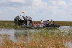 Airboat en el parque recreacional de Sawgrass foto de archivo libre de regalías