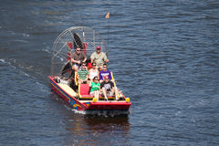 Airboat Rides Royalty Free Stock Image