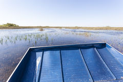 Airboat tour in the Everglades, Florida Stock Image