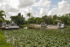 Airboats Stock Images