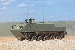 Airborne armored personnel carrier Royalty Free Stock Image