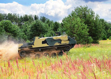 Airborne armored personnel carrier Royalty Free Stock Photography