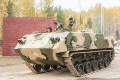Airborne armoured personnel carrier BTR-MDM Stock Photography