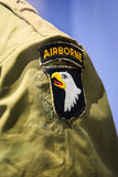 Airborne badge detail Royalty Free Stock Photography