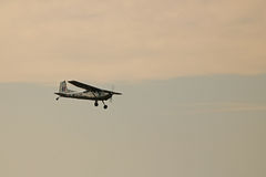 AIRBORNE CESSNA Royalty Free Stock Images