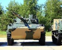 Airborne combat vehicle Stock Images
