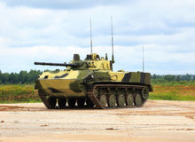 Airborne combat vehicle Royalty Free Stock Photography