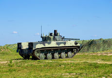 Airborne combat vehicle. Ready for a march over rough terrain royalty free stock photography