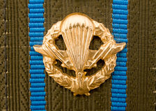 Airborne forces insignia Royalty Free Stock Photography