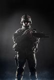 Airborne infantry Royalty Free Stock Photos