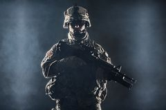 Airborne infantry Stock Photo