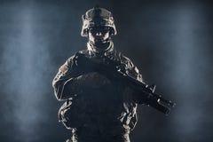 Airborne infantry Stock Photo