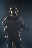 Airborne infantry Stock Photography