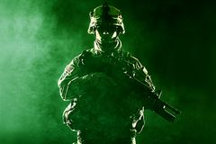 Airborne infantry Royalty Free Stock Images