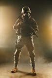 Airborne infantry Stock Image