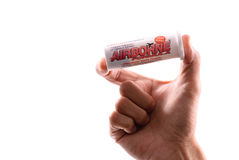 Airborne Ready Dissolve Tablets Royalty Free Stock Photo