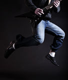 Airborne Rock star Stock Photo