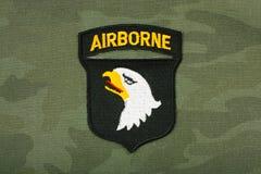 Airborne stripe Royalty Free Stock Image