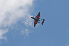 AIRBORNE VAMPIRE JET Royalty Free Stock Photos