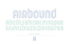 Airbound Στοκ Εικόνα