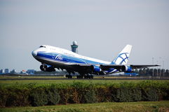 AirBridge Cargo Boeing 747 Stock Images