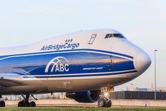 AirBridgeCargo 747 Lizenzfreie Stockfotografie