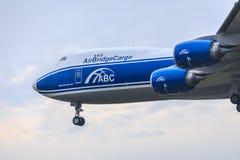 AirBridgeCargo 747-8 Fotografia de Stock