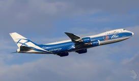 AirBridgeCargo Boeing 747 stock images