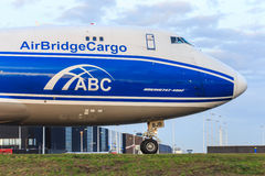 AirBridgeCargo 747 Royalty Free Stock Photos
