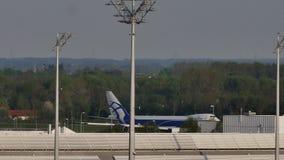 AirBridgeCargovliegtuig het taxi?en